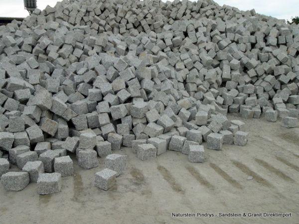 Granitpflaster grau Mittelkorn