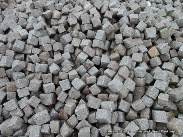 Granitpflastersteine Bohus Feinkorn